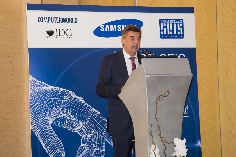 Luciano Sáez, presidente de SEIS