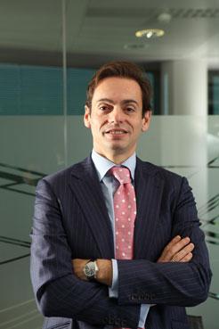 Pedro Irujo, vicepresidente comercial